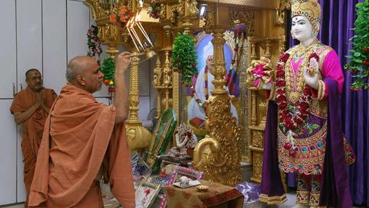 HDH Swamishri Vicharan - October 2019 (1st October to 15th October)