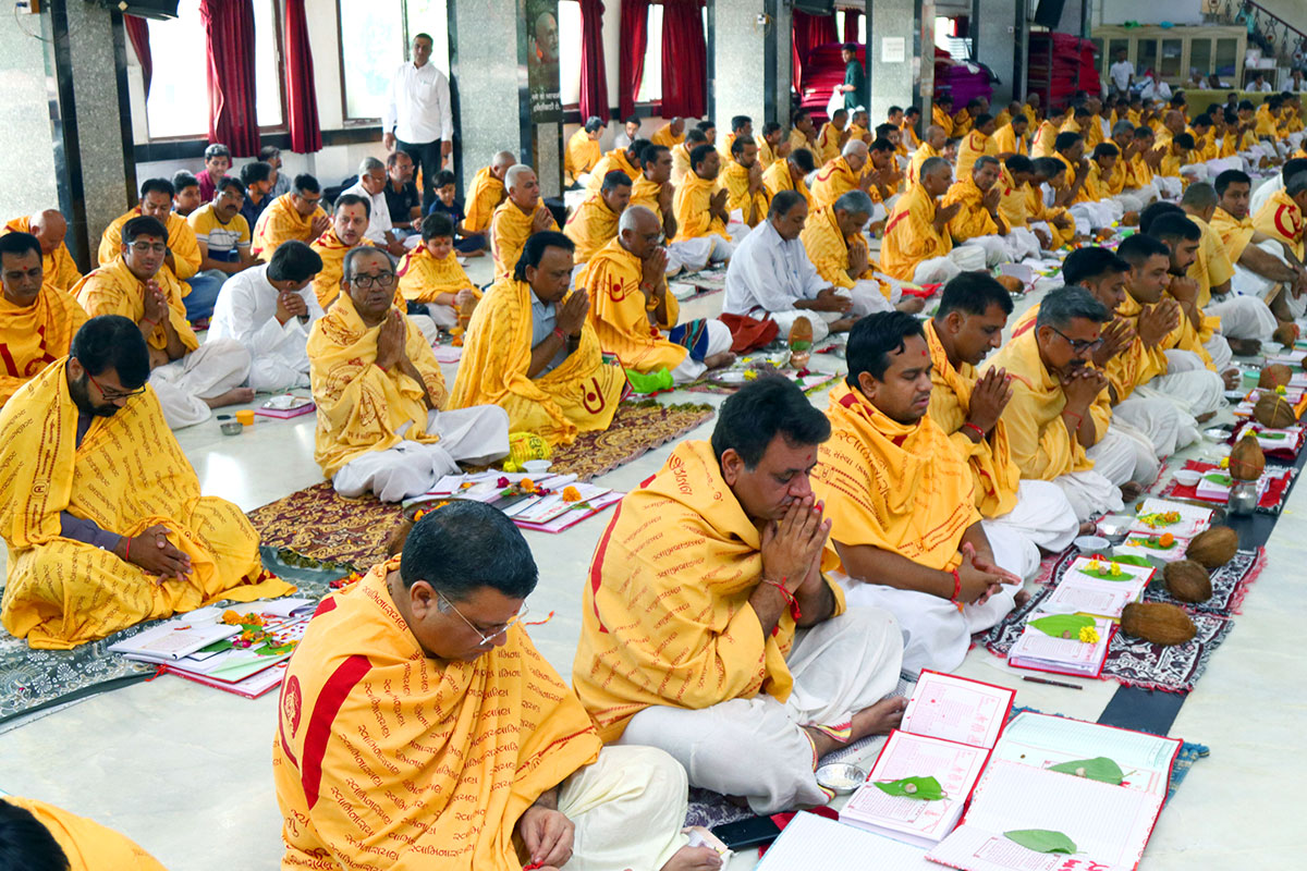 Diwali Chopda Poojan - 2019