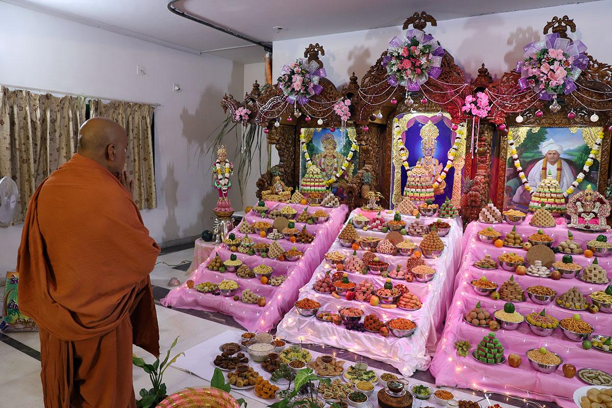 Bhaktinivas - Annakut Darshan
