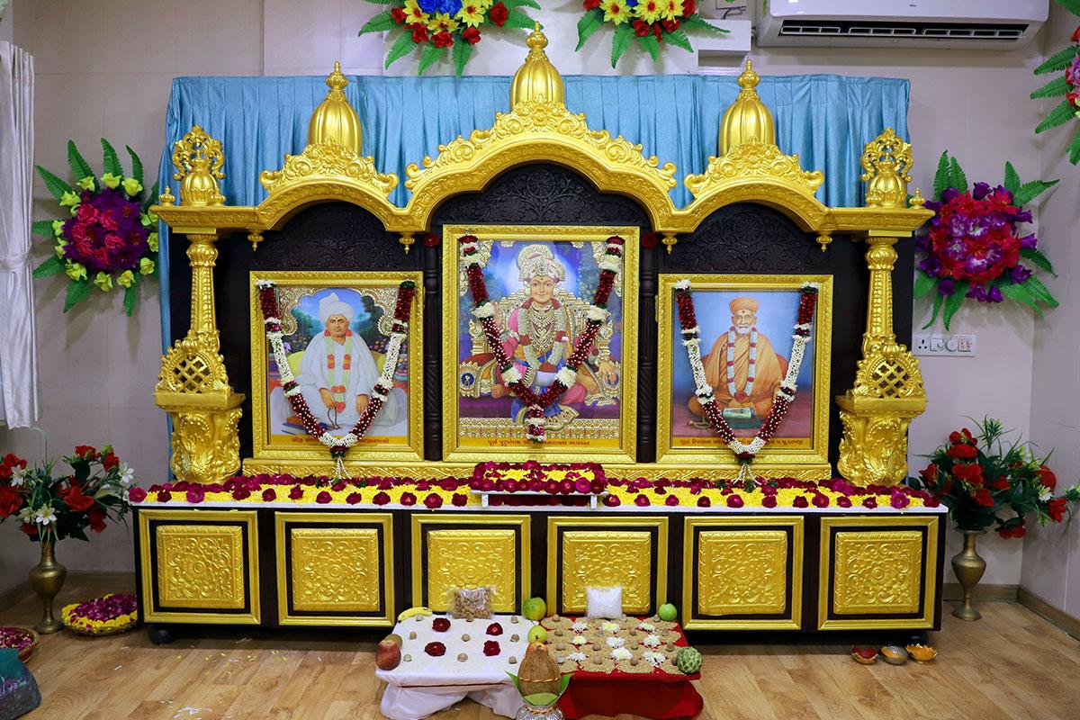 Gurudev P.P.Bapji Divya Aasan - Shantipath Udghatan Samaroh