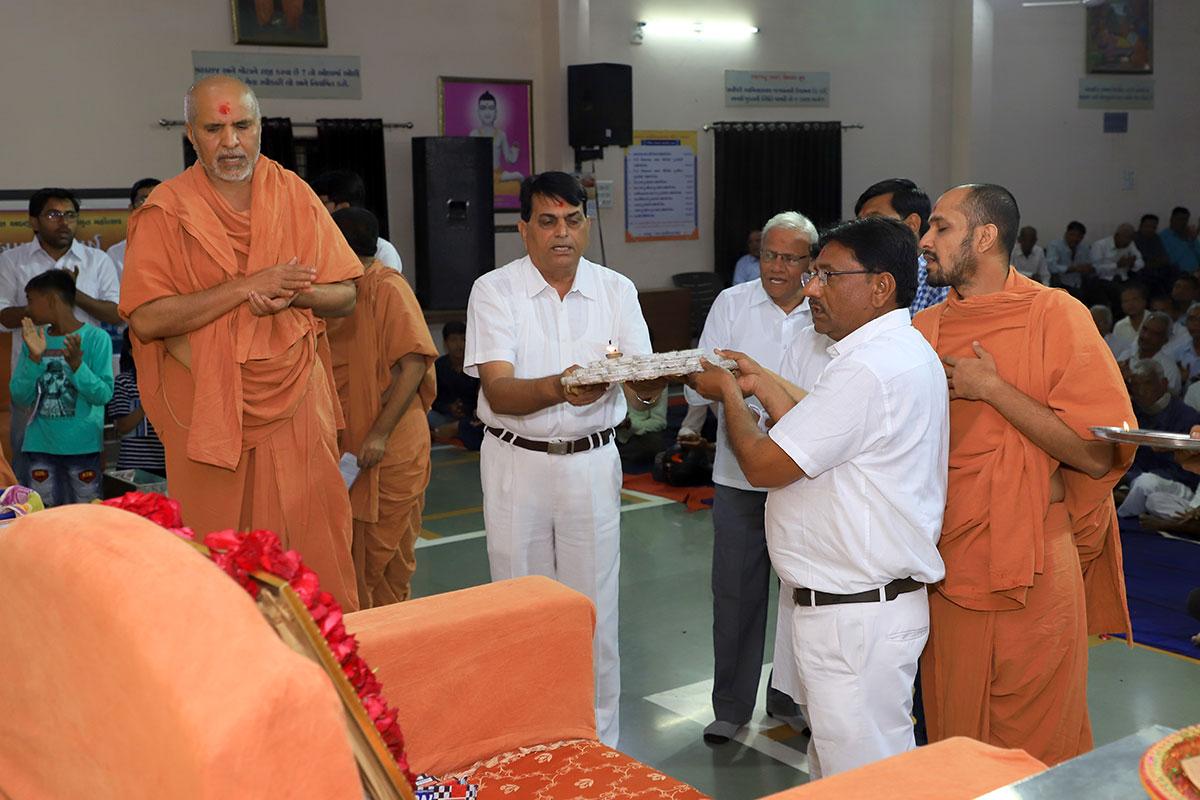 Vachanamrut Parayan at Bayad