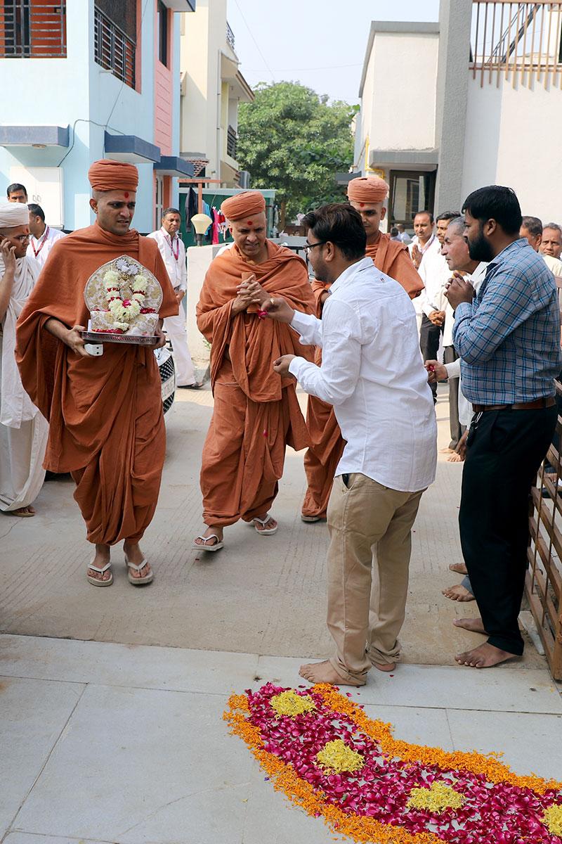 Padhramni at Swaminarayan Dham