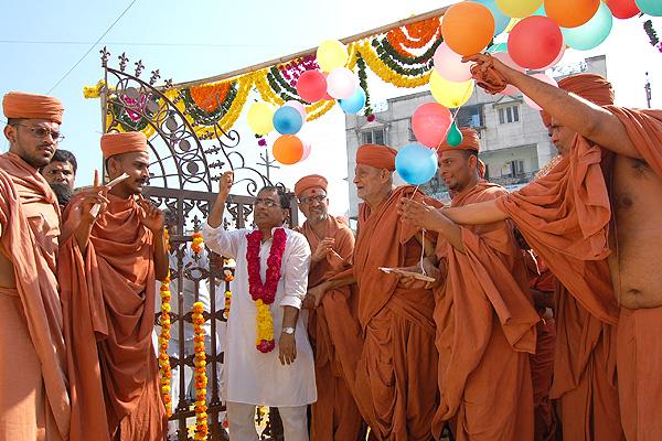 Mandir Uddghatan Samaroh