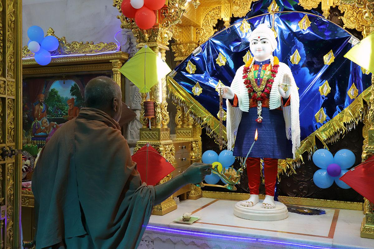 Mehsana - Divya Dhanurmas Swaminarayan Mahamantra Dhun