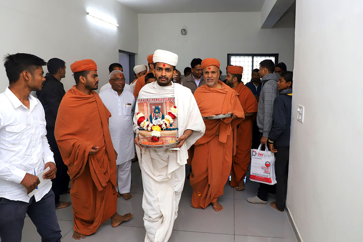 Himatnagar - HDH Swamishri Padhramni