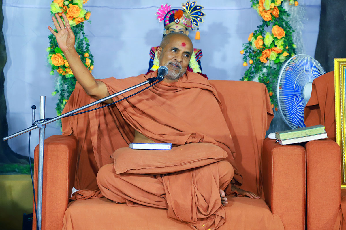 HDH Swamishri Vicharan - February 2020 (1st February to 15th February)