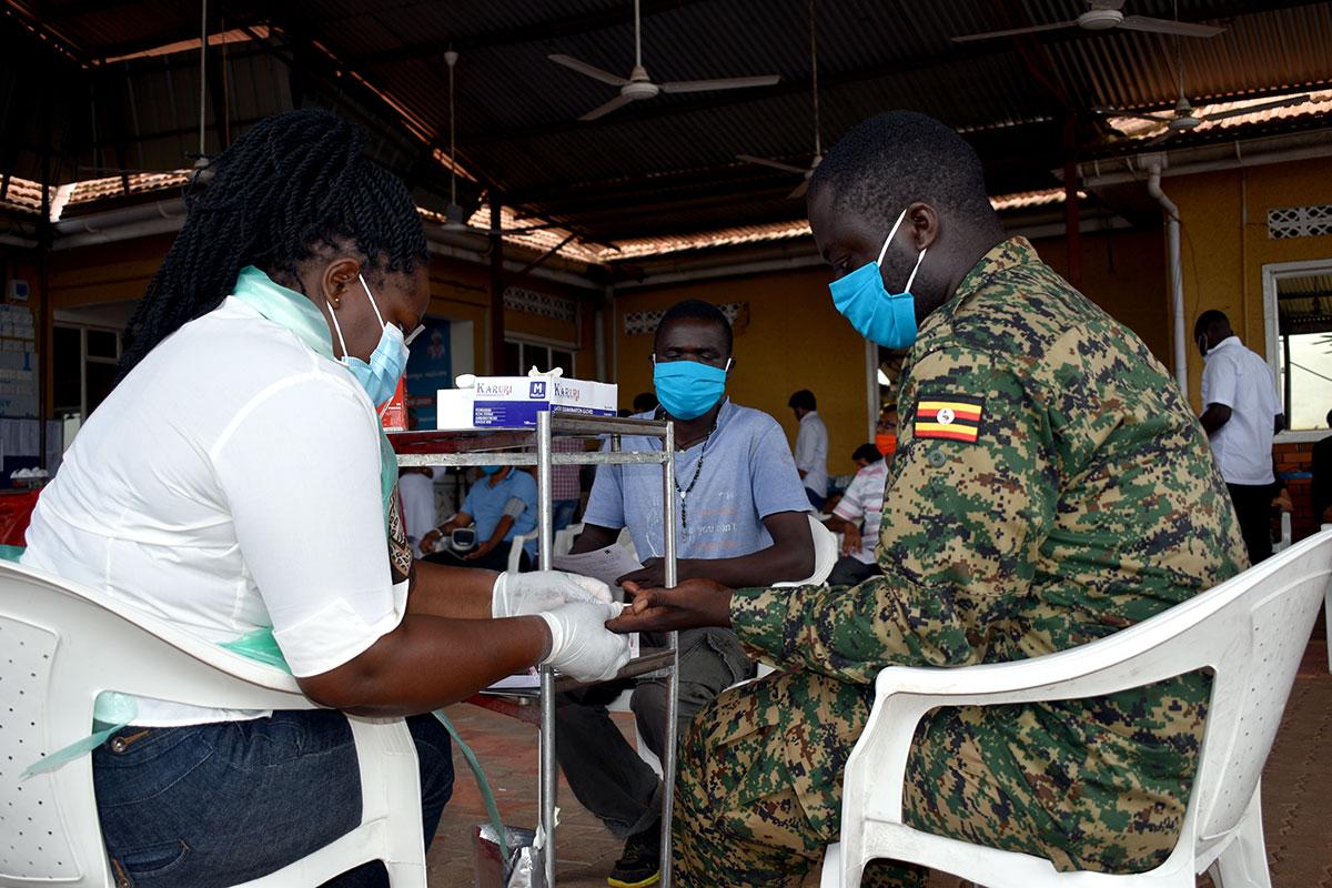 Blood Donation Camp 2020, Uganda, Africa