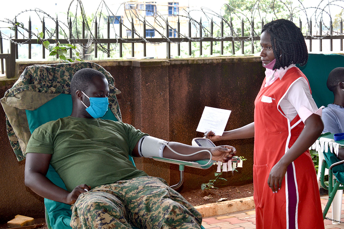 Blood Donation Camp 2020, Uganda, Africa