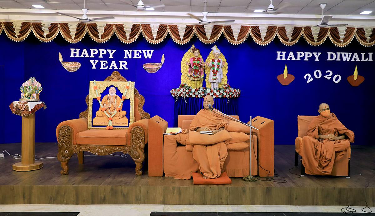 Nutan Varsh Ashirwad Sabha - 2020