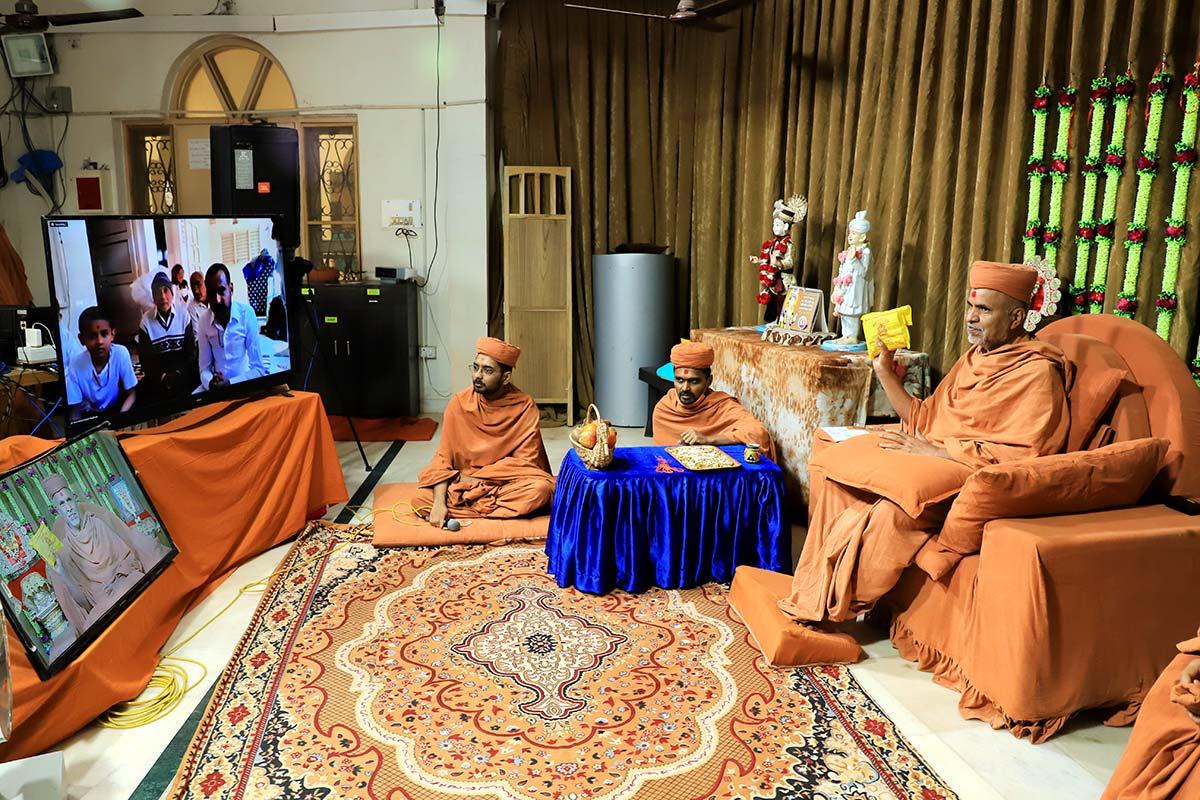 HDH Swamishri Vicharan | 25 to 31 January, 2021