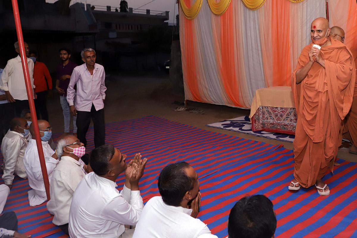 HDH Swamishri Padhramni Mahapooja