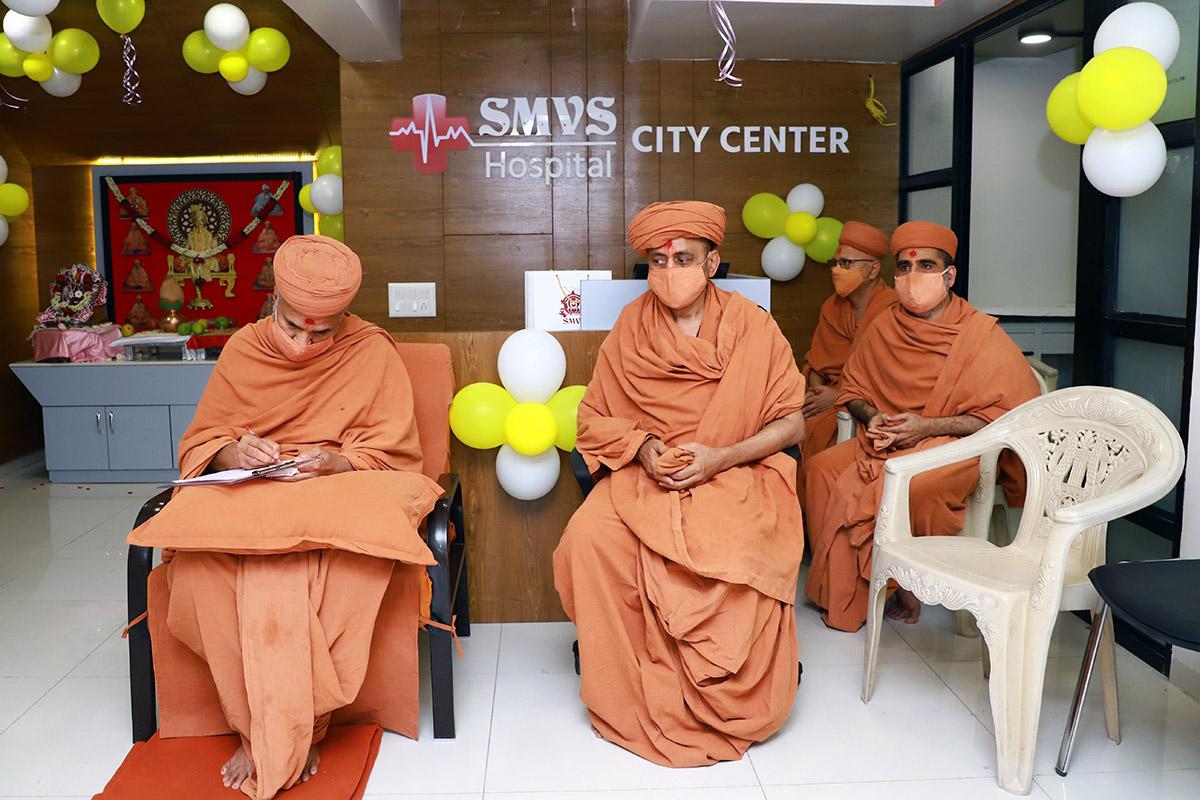 SMVS Swaminarayan City Center Udghatan | Vasna