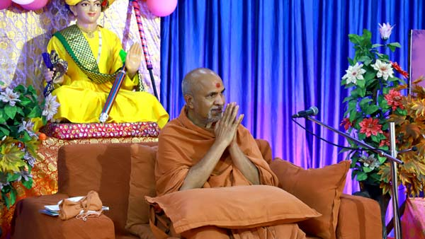 HDH Swamishri Vicharan | 16 to 31 March, 2021