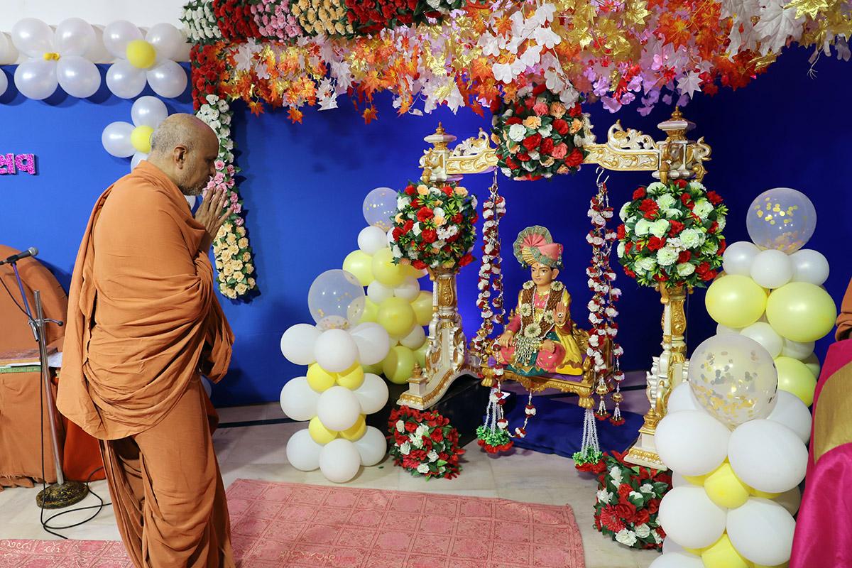 Shri Hari Pragtyautsav