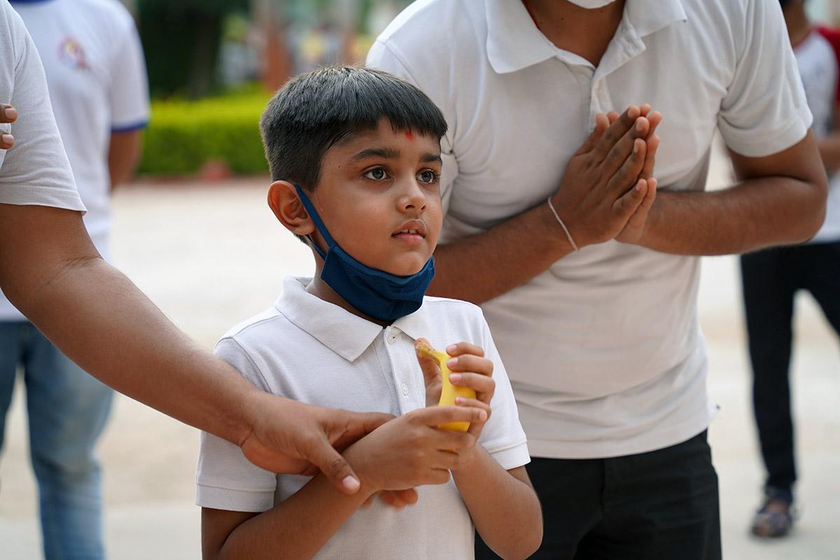 HDH Swamishri Vicharan | June, 2021