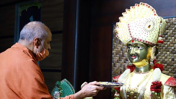 HDH Swamishri Vicharan   1 to 15 July, 2021