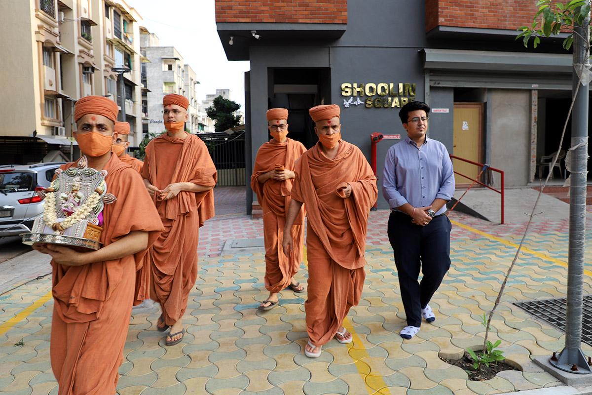 Padhramni at Maninagar