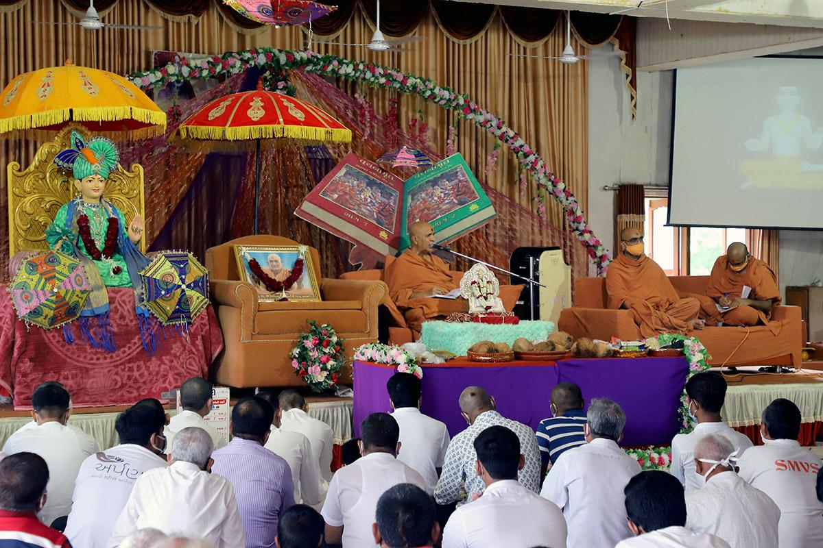 Parayan Purnahuti at Mehsana