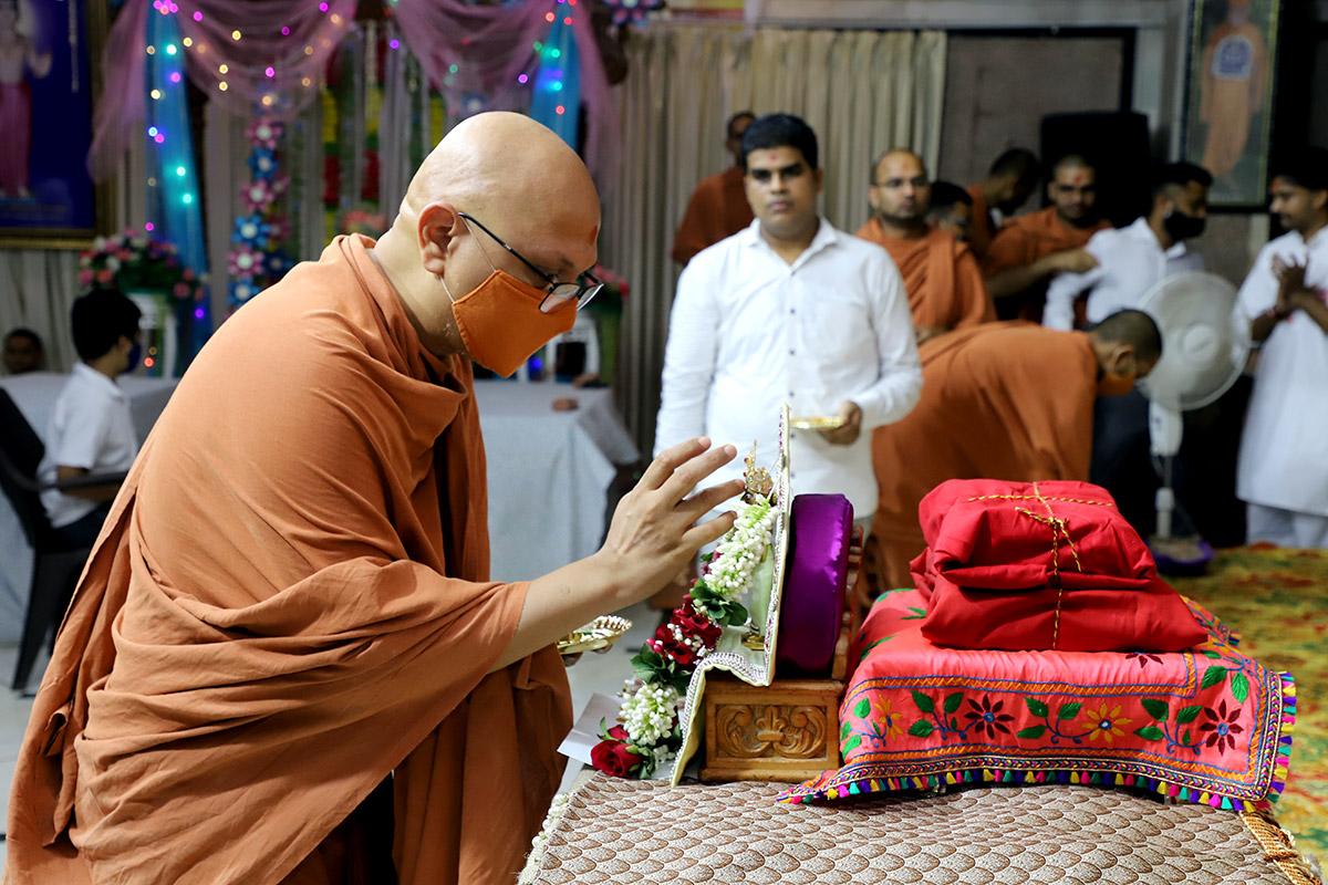 Parayan Purnahuti at Swaminarayan Dham Gandhinagar