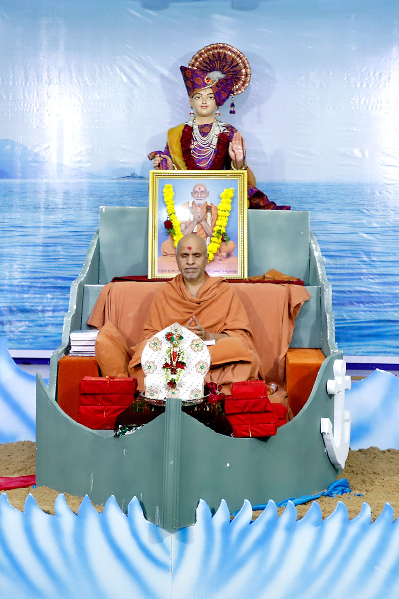 Parayan Purnahuti at Ghanshayamnagar