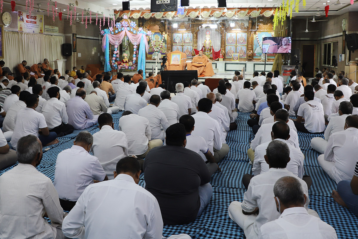 Sankalp Sabha at Swaminarayan Dham