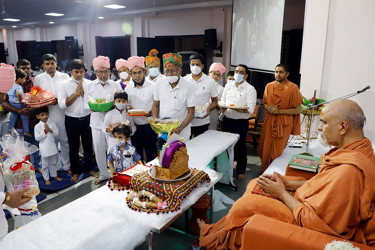 Parayan Purnahuti at Vadodara