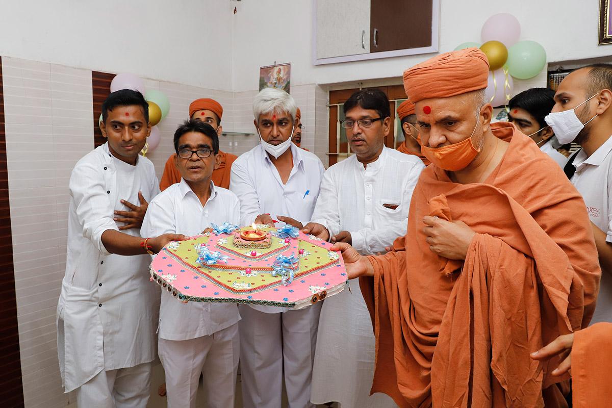 Padhramni at Ghanshyamnagar