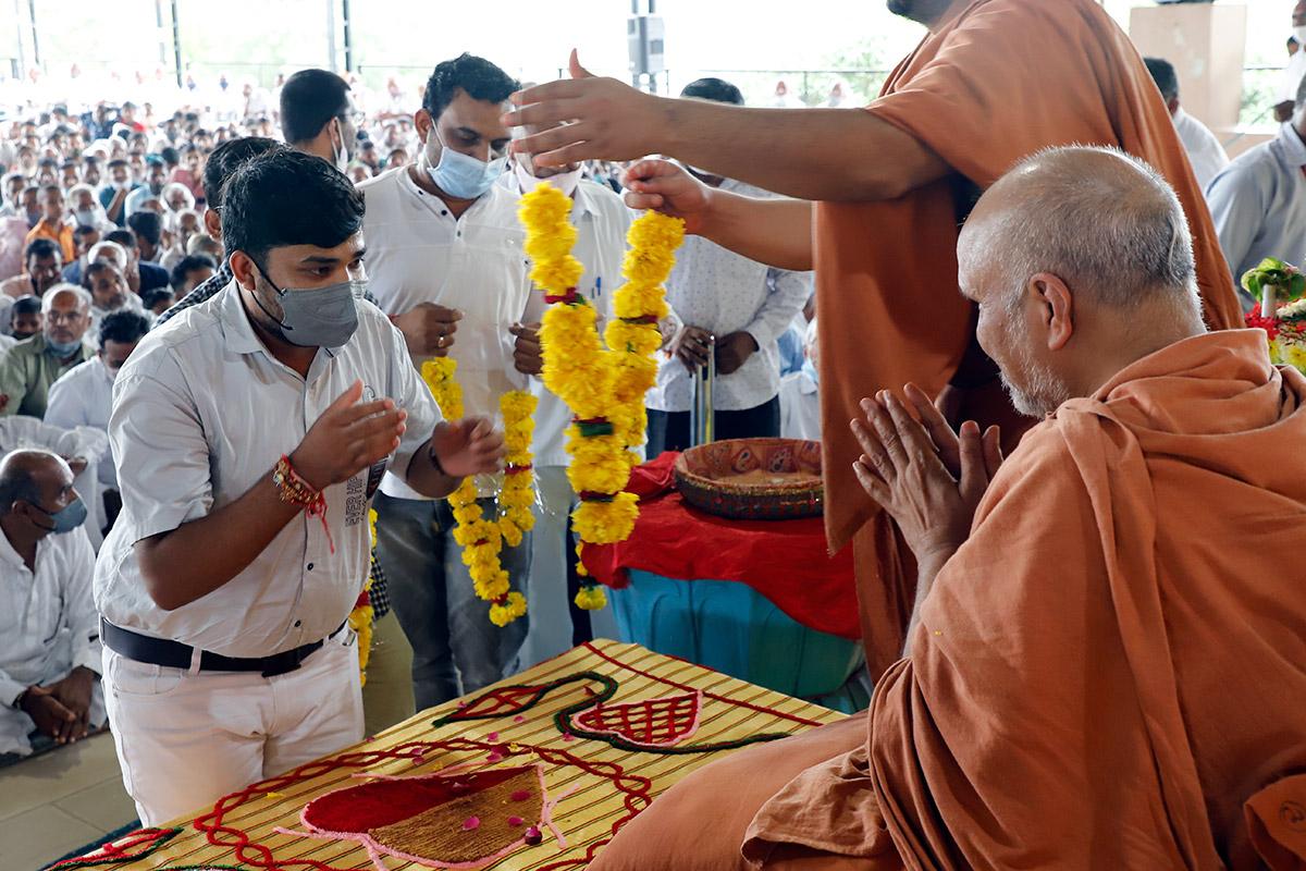 Parayan Purnahuti at Godhar