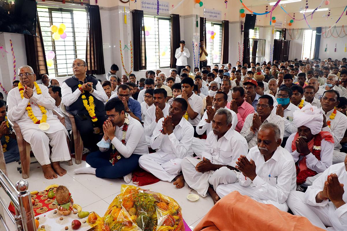 Satsang Kendra Udghatan - Kenpur, Godhar