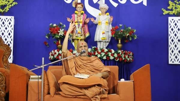 HDH Swamishri Vicharan | 16 to 30 September, 2021