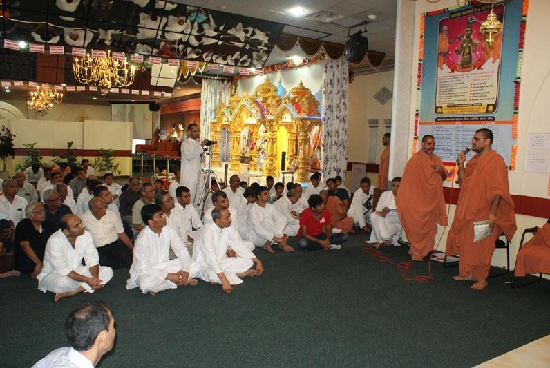 Shree Swaminarayan Mandir First Patotsav - Canada