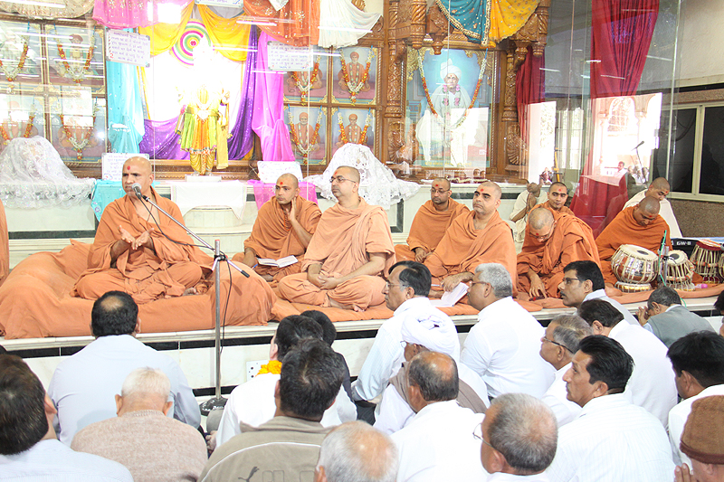 HDH Swamishri After Mandwad Lila