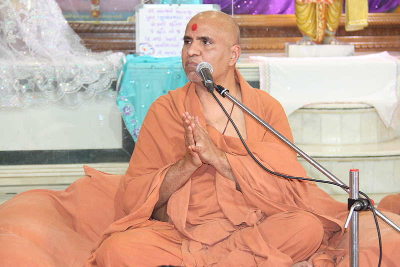 HH Swamishree After Mandwad Lila
