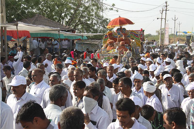 Board Anavaran & Bhoomi Pravesh Samaroh - Rampara