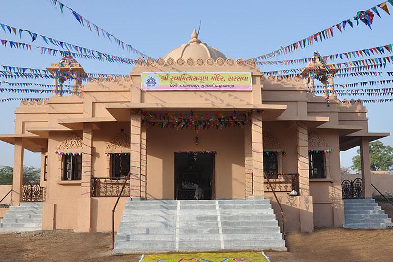 Mandir Udghatan Samaroh - Saraswa