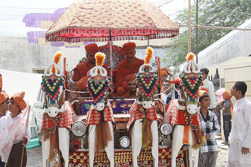 Swaminarayan Mandir Murti Pratistha Utsav - Morbi
