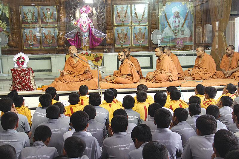 Arrival Celebration of HDH Swamishri