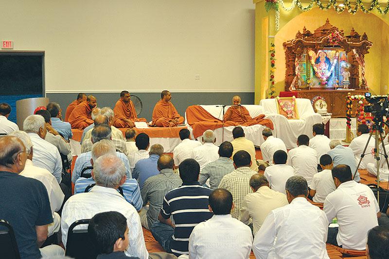 HDH Swamishri Vicharan - USA