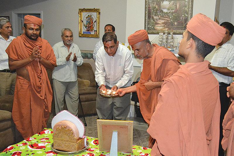 HDH Swamishri Vicharan - Atlanta (USA)