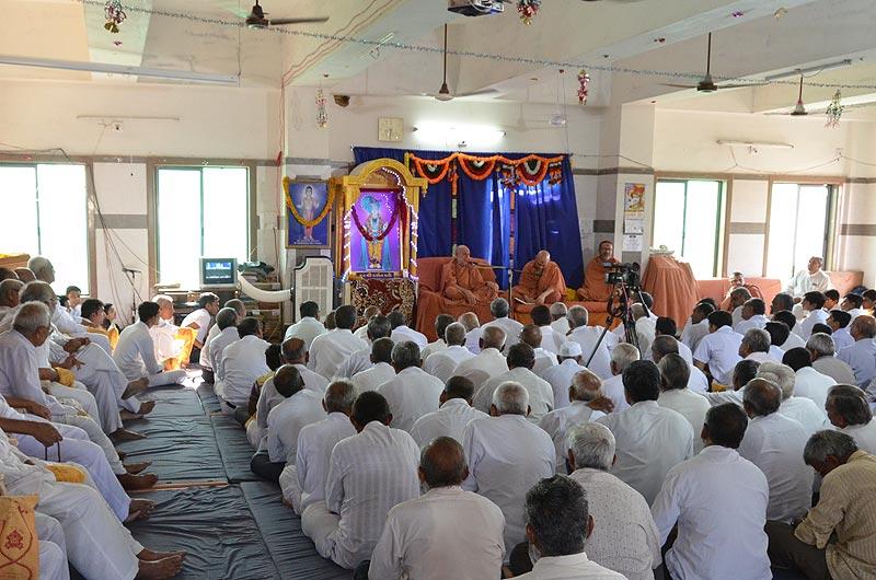 SMVS Swaminarayan Mandir Ghanshyamnagar - 39th Patotsav