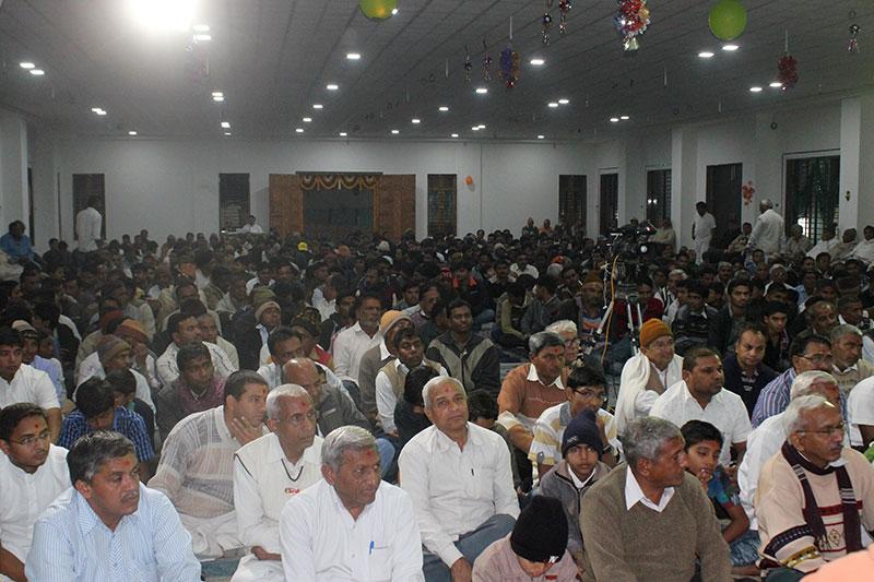 Satsang Hall Uddghatan & Shakotsav - Vijapur