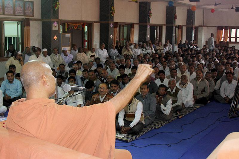 SMVS Swaminarayan Mandir Mehsana - Zoliseva & Shakotsav