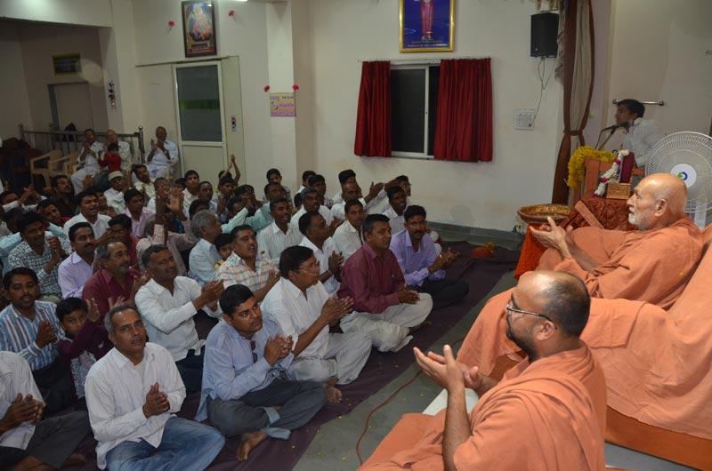 SMVS Swaminarayan Mandir Santrampur Patotsav