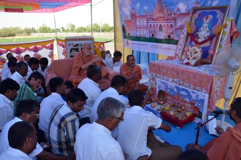 SMVS Swaminarayan Mandir Patan Shilanyas Utsav