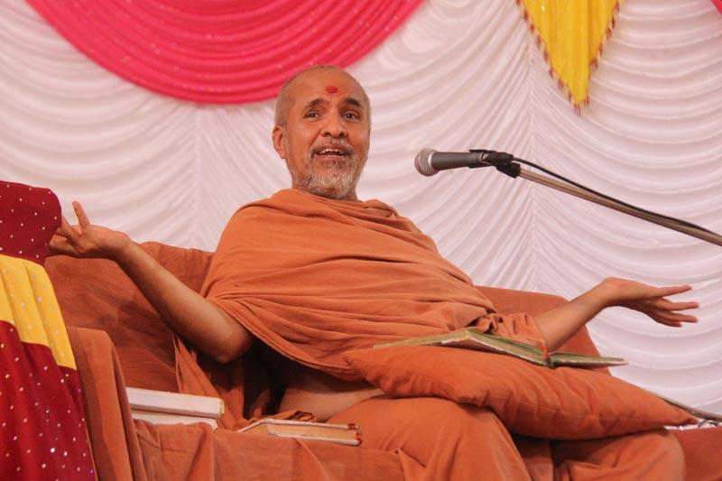 HDH Swamishri Vicharan - Kutch - Mandvi, Baladia - 2014