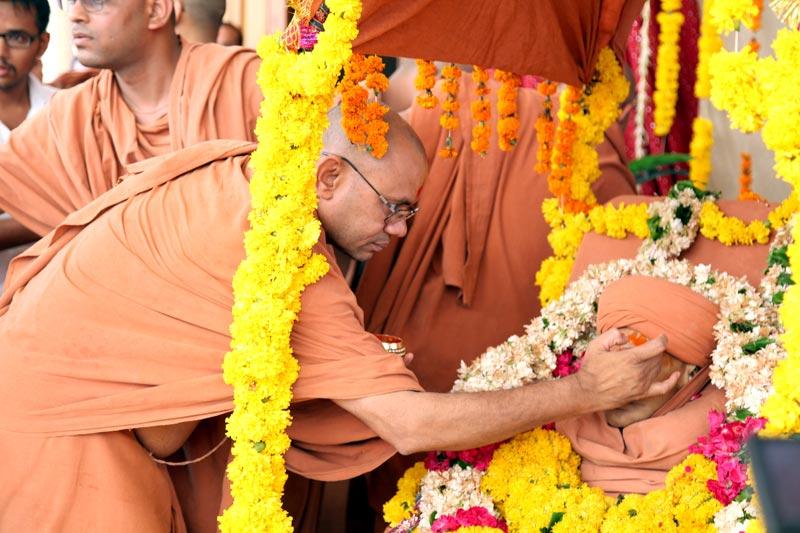 P.Anandswami Antim Sanskar Vidhi