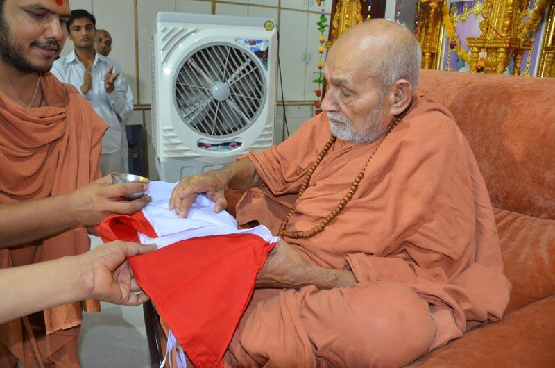 SMVS Swaminarayan Mandir Halol 2nd Patotsav