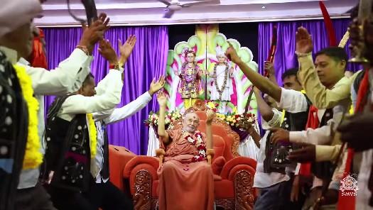 HDH Bapji Divya Darshan & Ashirwad (02-09-18)