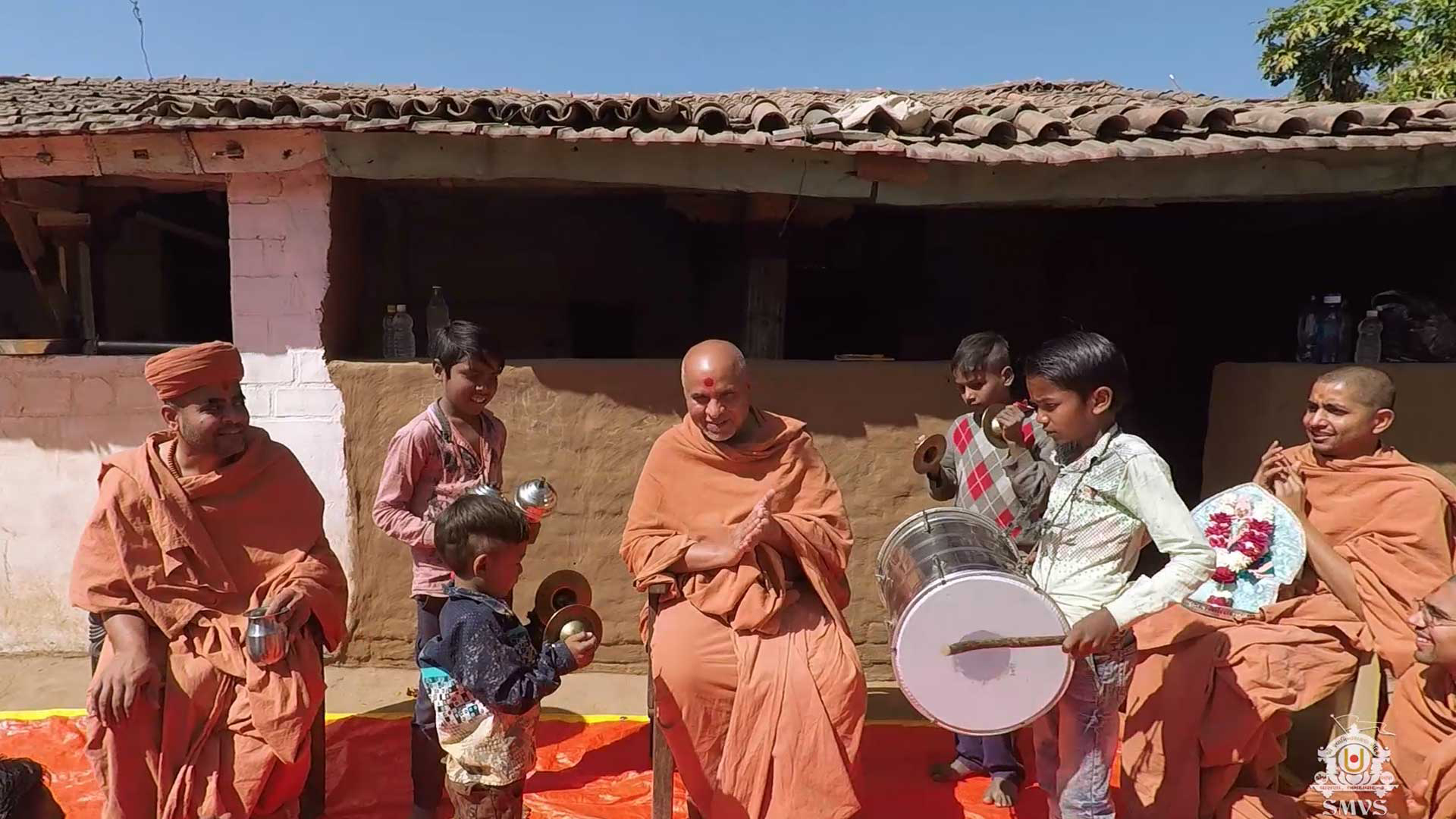 HDH Swamishri Vicharan February 2019