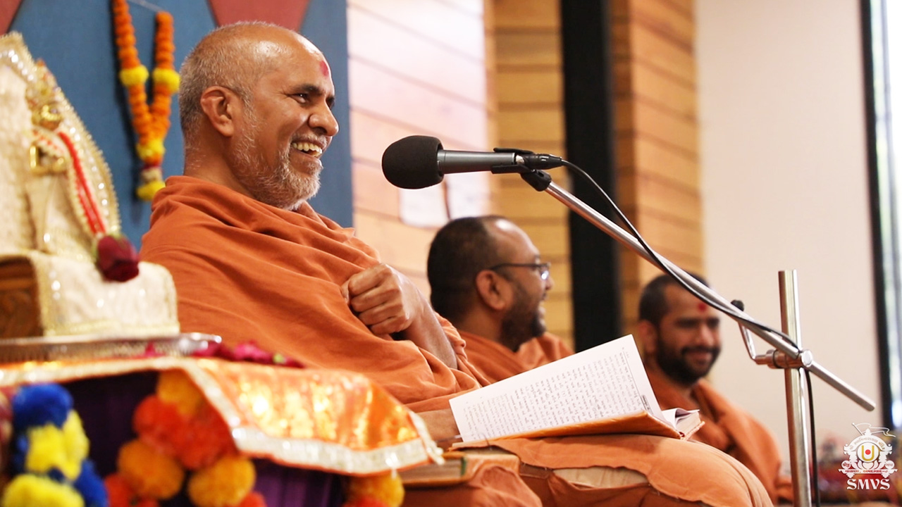HDH Swamishri Vicharan March 2019
